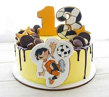 Торт футбол на 13 лет девочке