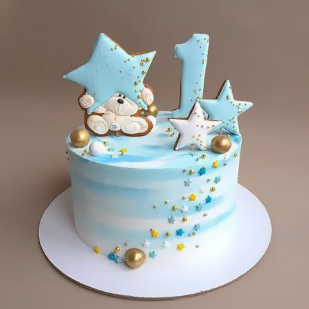 Детский торт со звездами