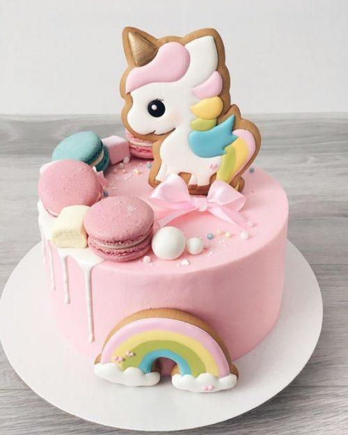 Торт на годик World Of Sweets