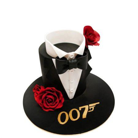 Торт для мужчин Агент 007
