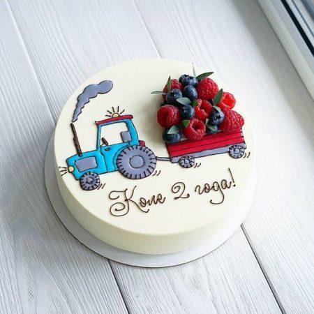 Торт ягодное лето
