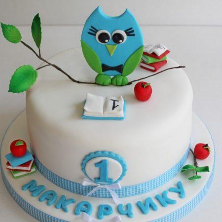 Торт совенок на годик