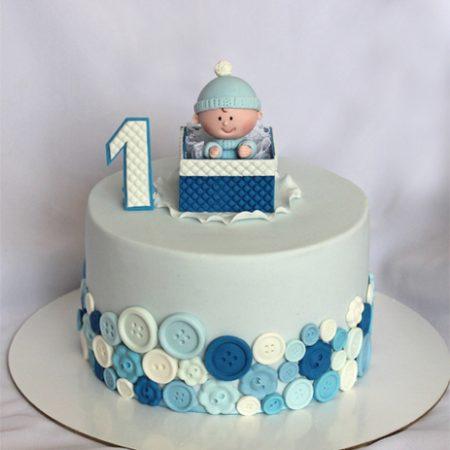 Торт ребенок на год