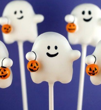 Кейк попсы на Хэллоуин