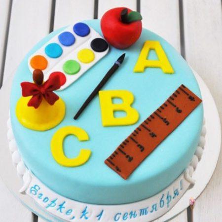 Торт на 1 сентября первоклашке