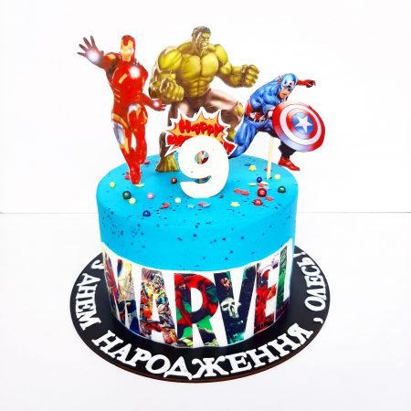 Торт Marvel