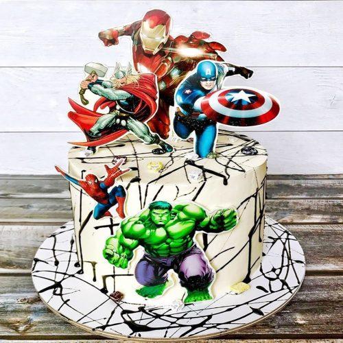 Торт команда мстителей + Халк