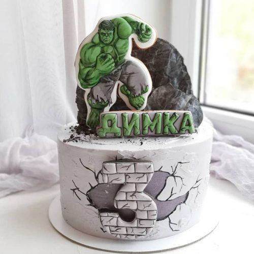 Торт Халк