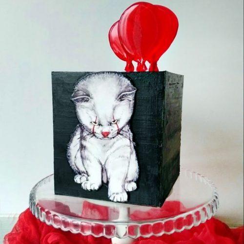 Торт кот Пеннивайза