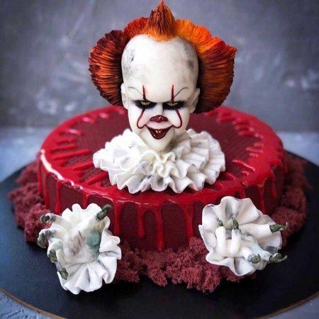 Торт клоун оно