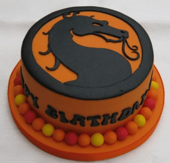 Торт мортал комбат