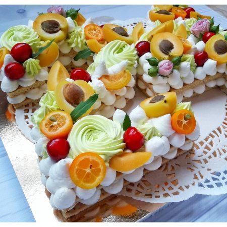 Торт цифра 24