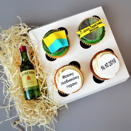 Капкейки с виски Jameson