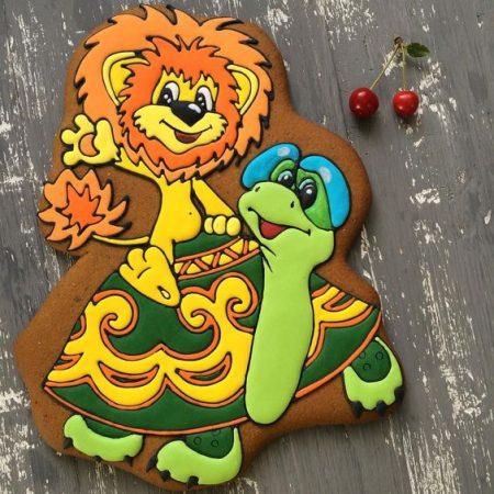 Львёнок и большая черепаха
