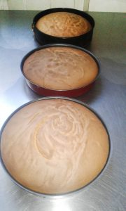 Бисквиты в форме