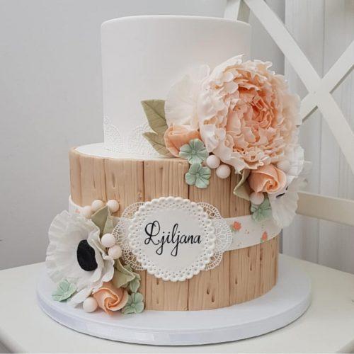 Прикольный торт на 20 лет девушке