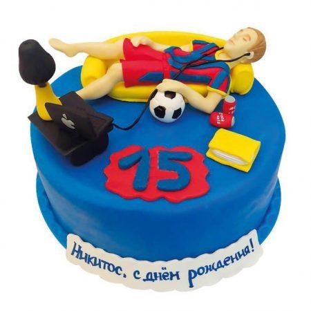 Торт для подростка 15 лет