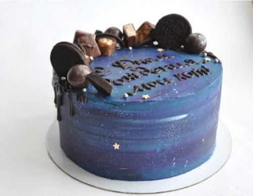 Торт космос с орио
