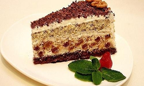 Правильная нарезка торта