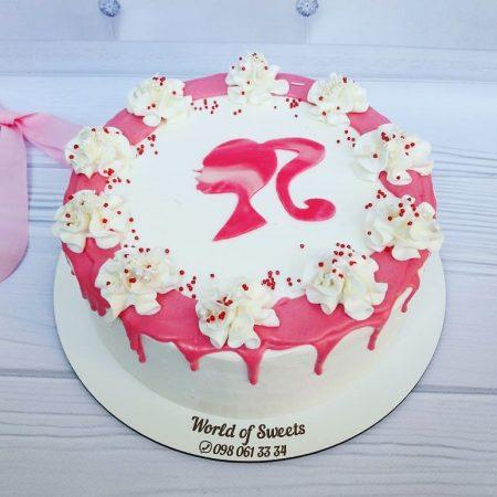 Торт с Барби