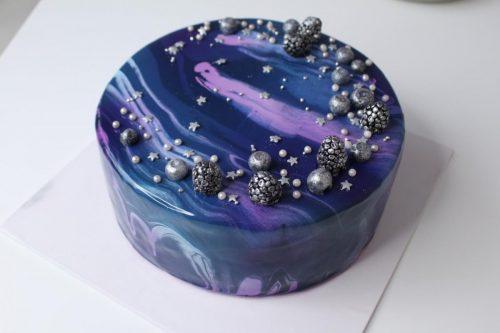 Торт космическая даль