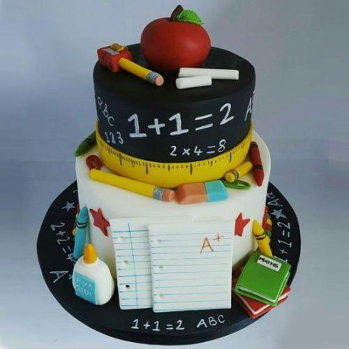 Торт для учителя начальной школы на день рождения