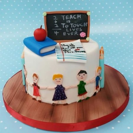 Торт на заказ учителю