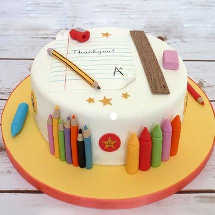 торт для учителя начальных классов
