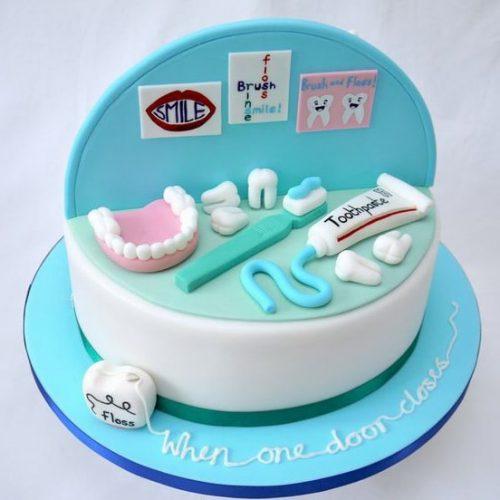 Торты для стоматологов