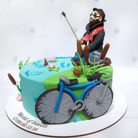 Торт мужу рыбаку