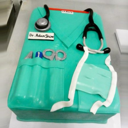 Торт для врача хирурга