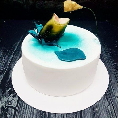 Торт с рыбой