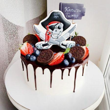 Торт для пирата