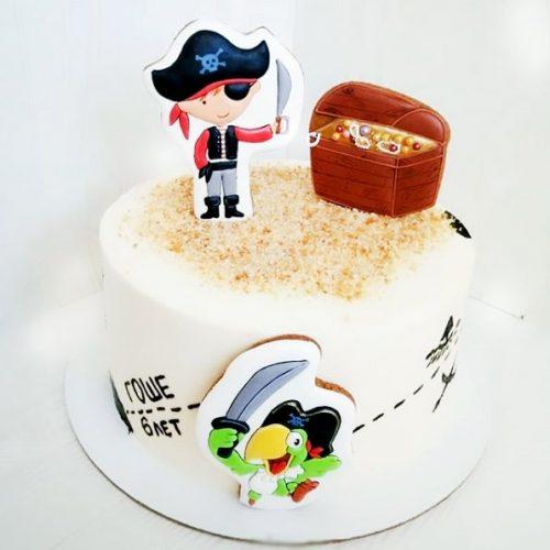 Торты для детей пираты