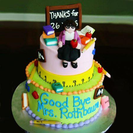Торт для учителей на выпускной