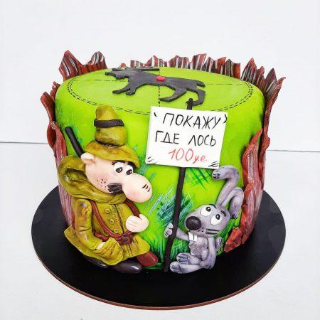 Торт охотнику
