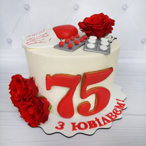 Торт врачу на день рождения