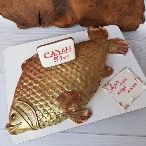 Торты в виде рыбы