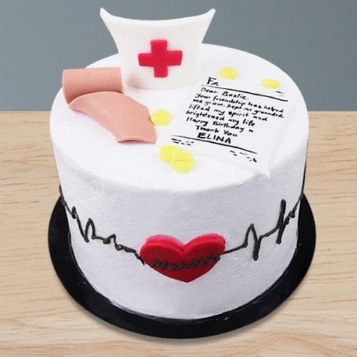 Торт для врача кардиолога