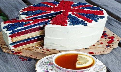 Украинский торт в английском стиле