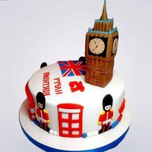 Торт Лондон с мастики