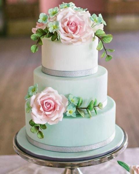 Торт свадебный 3 яруса