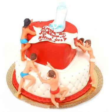 Эротический торт женщине