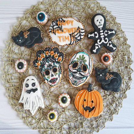 Имбирные пряники на Хеллоуин
