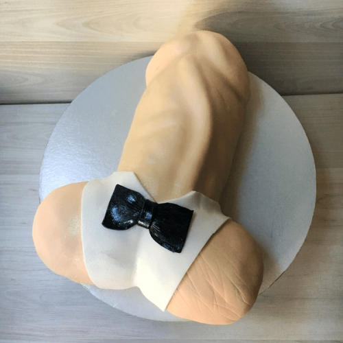 Торт пенис из мастики