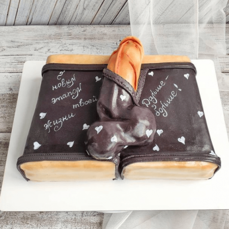 Торт с мужским писюном