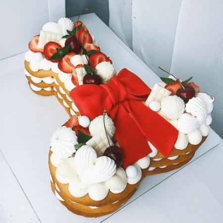 Торт в форме мужского члена