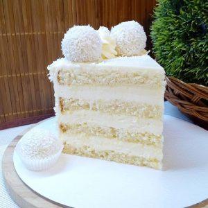 Правильно отрезанный торт