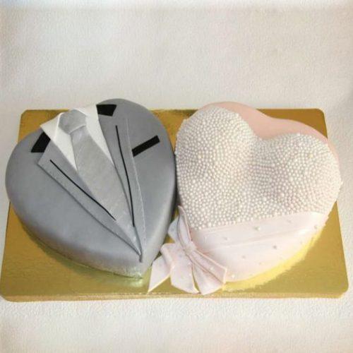 Торт мужская и женская грудь
