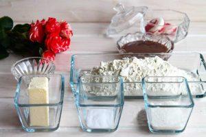 Ингредиенты для торта цифры